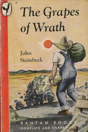 a literary paper of steinbecks the grapes of wrath