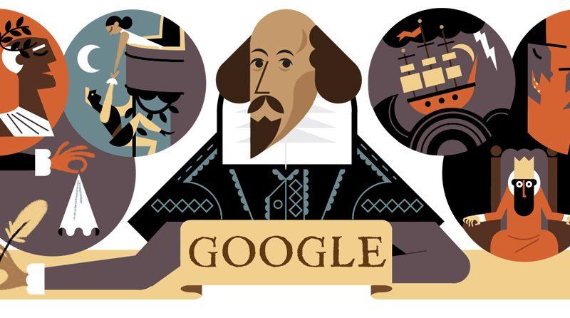 Literary Google Doodles