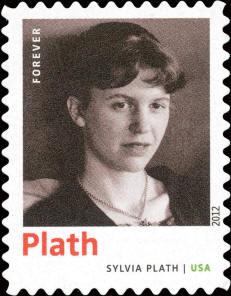 stamp-sylvia-plath