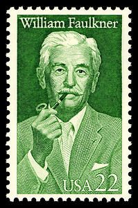 stamp-william-faulkner-1987