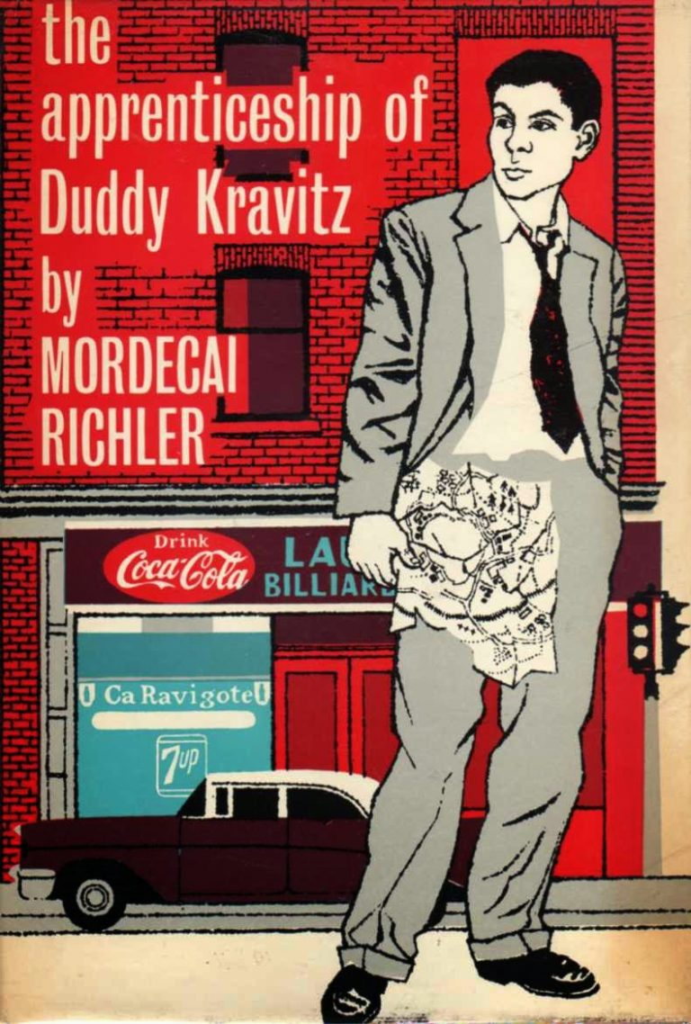 an analysis of the topic of the book duddy kravitz by mordecai richler Women of the apprenticeship of duddy kravitz by mordecai richler 992 words | 4 pages in the apprenticeship of duddy kravitz, a book written by mordecai richler, women are represented as if they are of a lower status and importance than men these female characters include yvette durelle, minnie kravitz, ida kravitz, linda rubin.