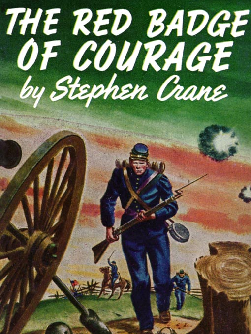 red badge of courage essay title Henry's predicament in the red badge of courage shows how he had to overcome his self-serving fear of death in order to accomplish the the battle of life is won by compensating for one's weakness by challenging and defeating that weakness, as henry fleming did in the red badge of courage.